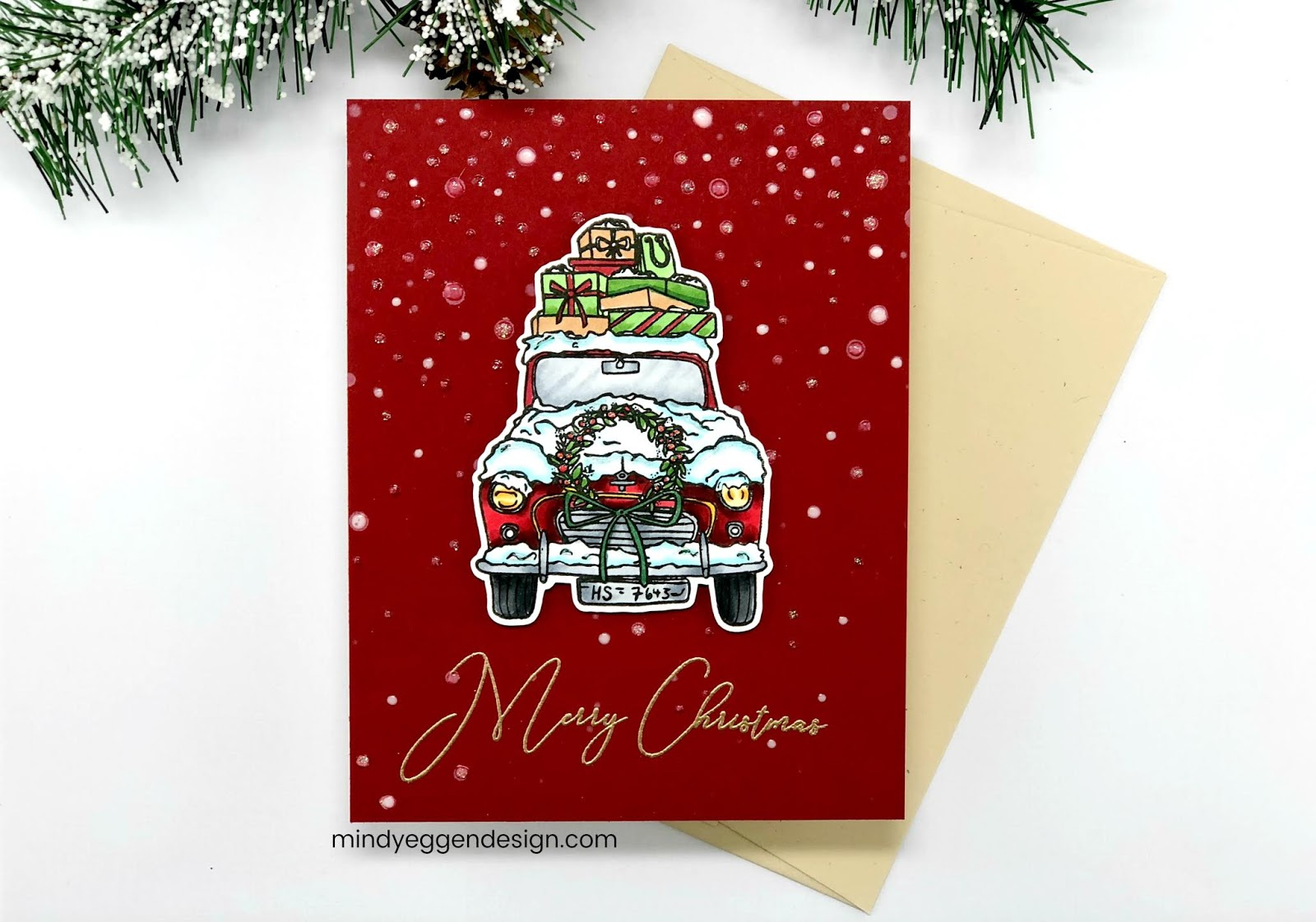 Old Fashioned Christmas Gina K Design