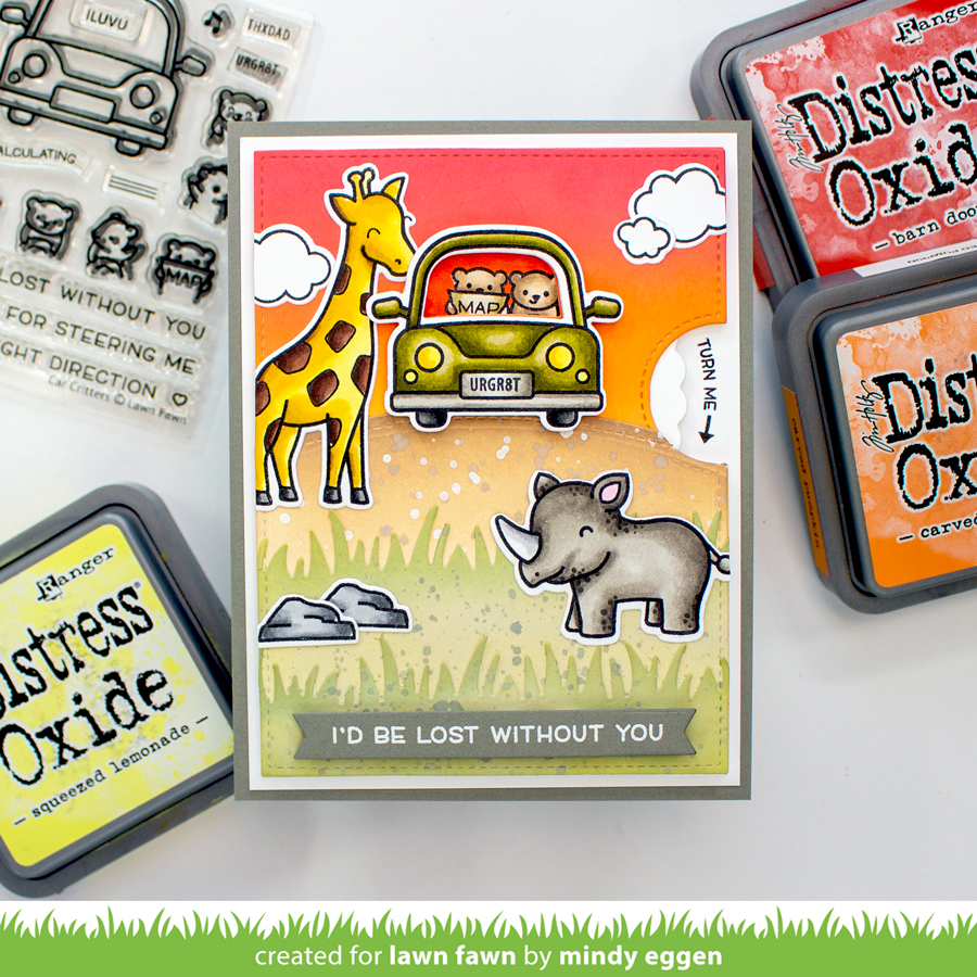 Lawn Fawn Mini Release Week: Car Critters